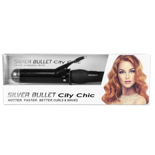 Silver Bullet City Chic Curling Iron 38mm