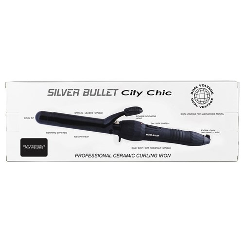 Silver Bullet City Chic Curling Iron 25mm
