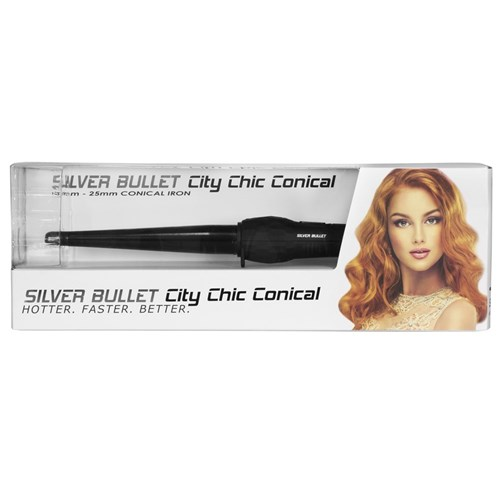 Silver Bullet City Chic Regular Conical Curling Iron