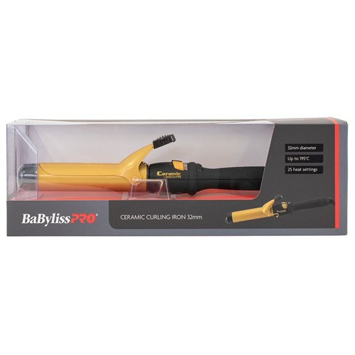 BaBylissPRO Ceramic Curling Iron 32mm