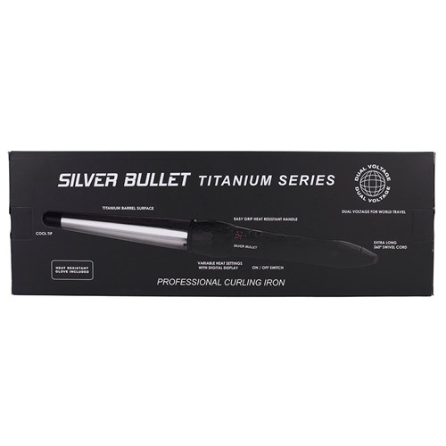 Silver Bullet Fastlane Titanium Large Conical Curling Iron