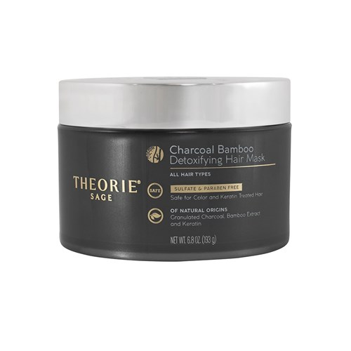 Theorie Charcoal Bamboo Detoxifying Hair Treatment Mask