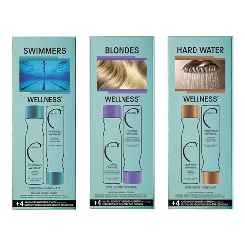 Malibu C Blondes Wellness Hair Collection