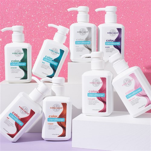 Keracolor Color Clenditioner Colour Shampoo Light Pink