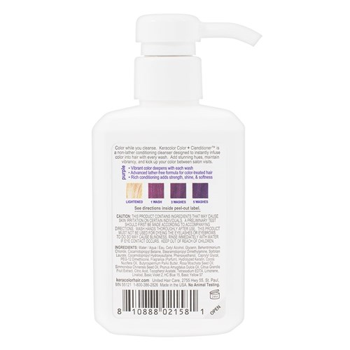 Keracolor Color Clenditioner Colour Shampoo Purple