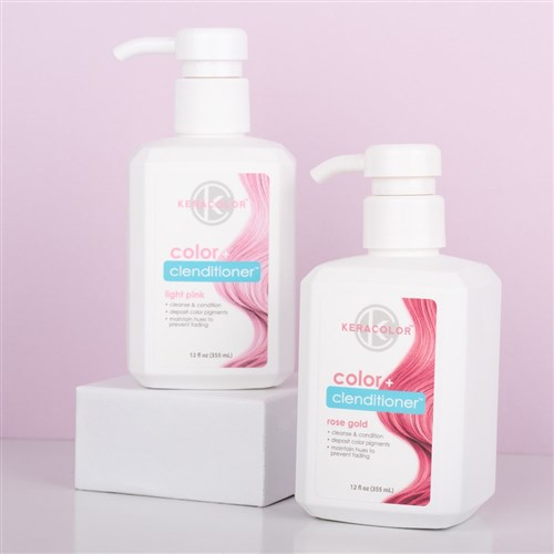 keracolor color clenditioner colour shampoo rose gold i