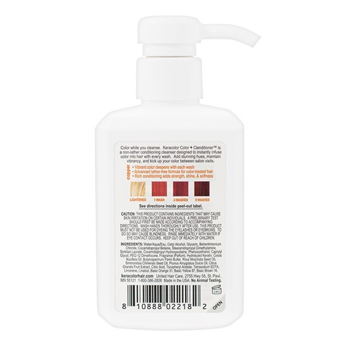 Keracolor Color Clenditioner Colour Shampoo Copper