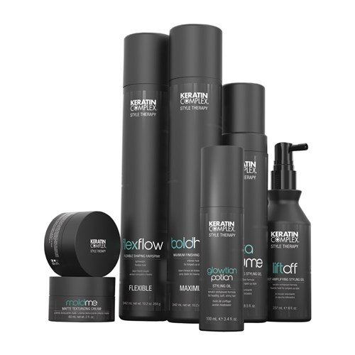 Keratin Complex Lift Off Root Amplifying Hair Styling Gel, 237mL