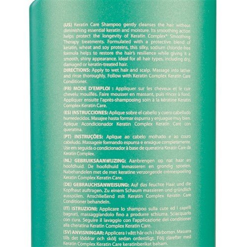Keratin Complex Smoothing Therapy Care 1 Litre Shampoo