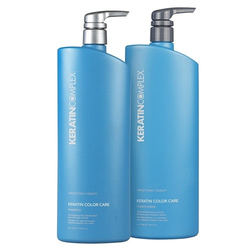 Keratin Complex Smoothing Therapy Colour Care 1 Litre Shampoo