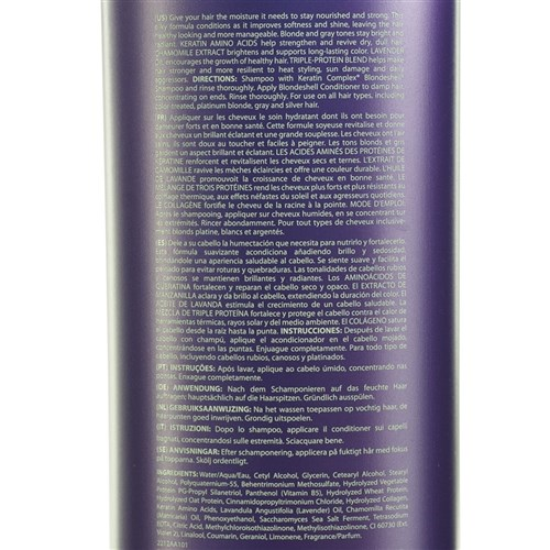 Keratin Complex Blondeshell Conditioner 1L