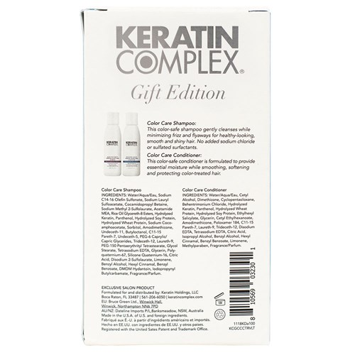 Keratin Complex Colour Care Duo Travel Pack