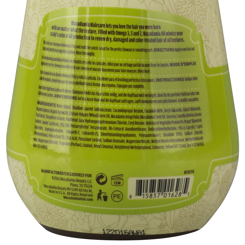 585a71507f9 Macadamia Natural Oil Smoothing Shampoo 1L Zoom. Macadamia ...