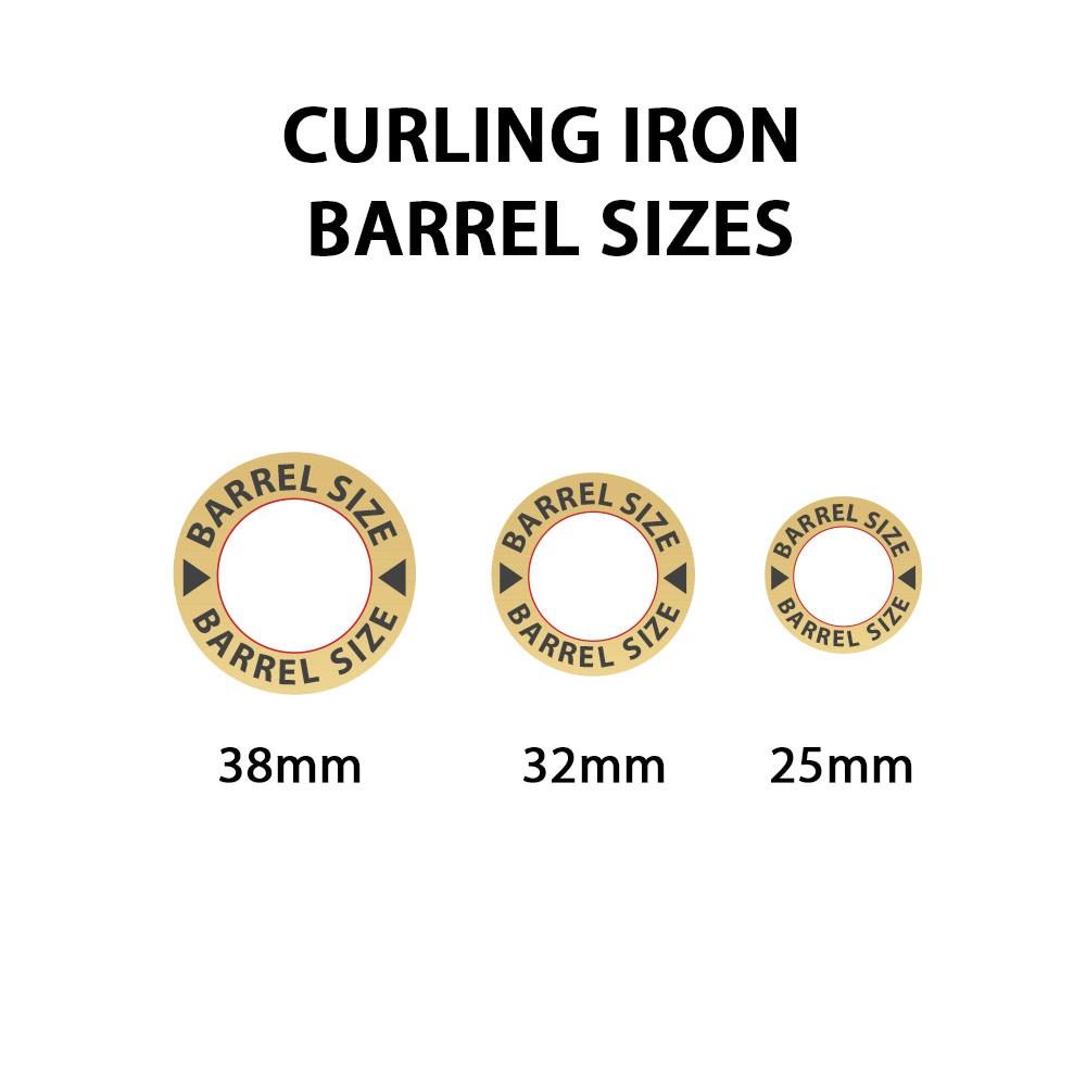 Absoluteheat Digital Ceramic 25mm Curling Iron I Glamour Com