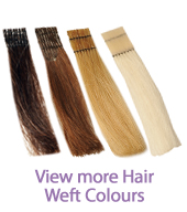 Hair Weft Colours