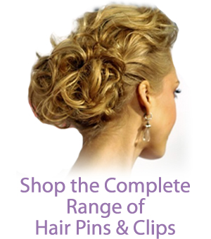 Shop the Complete Range of Hair Pins & Clips