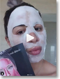 OMG peel off mask media review